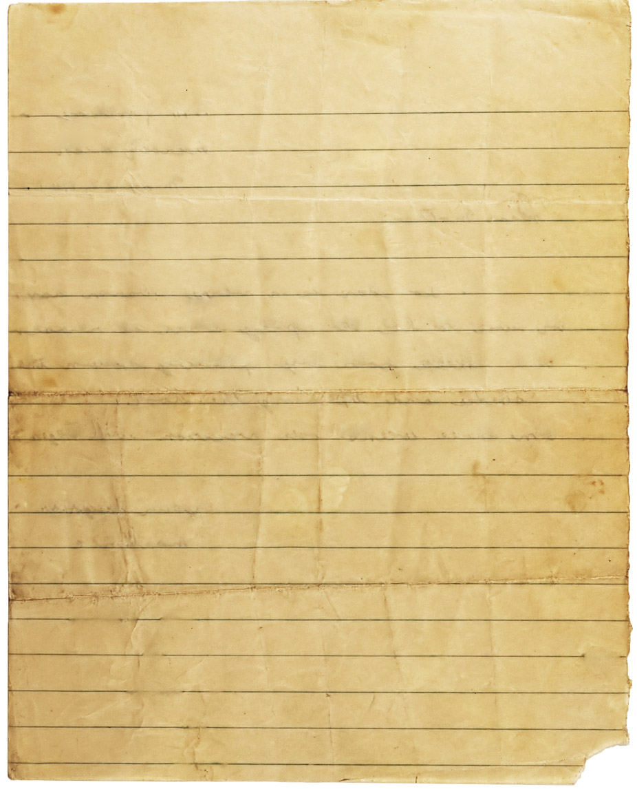 old looking paper template